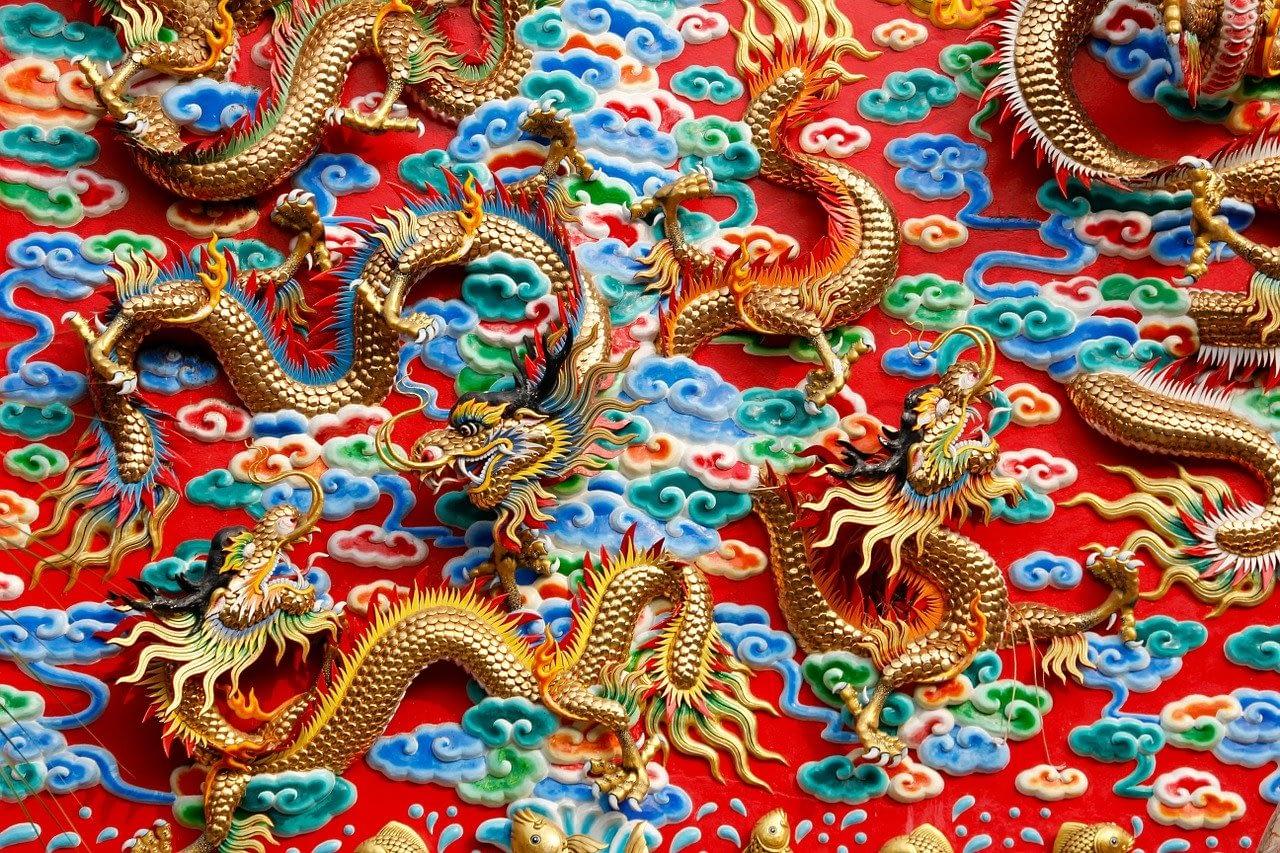 China character : Is dragon starting world war ?